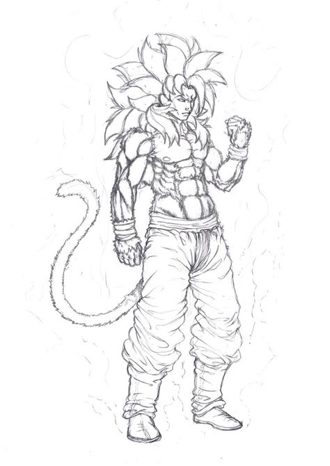 coloring pages of goku super saiyan 4 goku super saiyan 4 coloring pages coloring pages