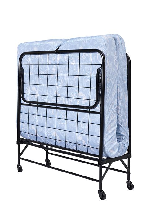 Guest Folding Bed Dhp Furniture Folding Metal Guest Bed With 5 Quot Mattress