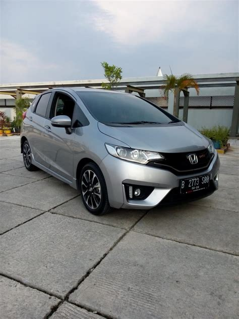 2017 Honda Jazz Rs honda jazz rs 2017 2017 silver km 1 rban matic