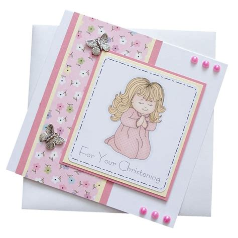 Christening Cards Handmade - 35 best images about christening cards on baby