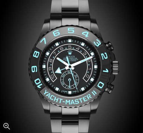 Rolex Yatch Master 2 rolex yacht master ii oceania titan black