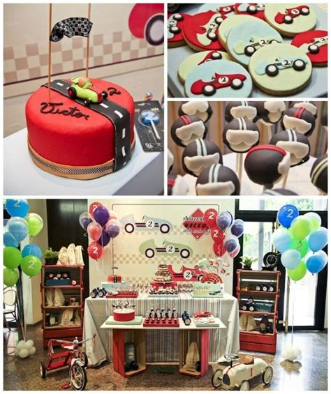 car themed home decor vintage race car themed birthday party planning ideas