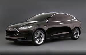 Electric Car Tesla Model X Tesla Officially Launches The Model X Electric Suv And It