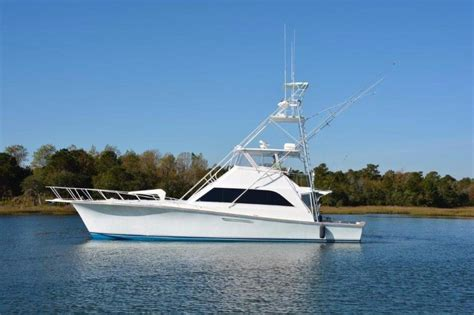 used ocean boats for sale in nc 1989 used ocean yachts 55 super sport sports fishing boat