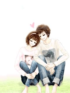 wallpaper cute korean couple cute korean gif