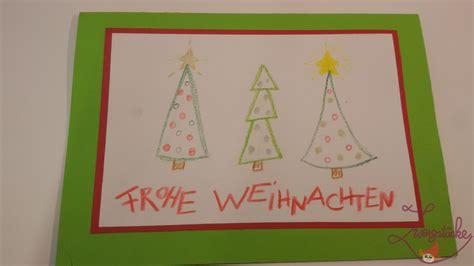 Weihnachtskarten Kinder Basteln by Zwergst 252 Cke Basteln Weihnachtskarten Mit Kindern Gestalten