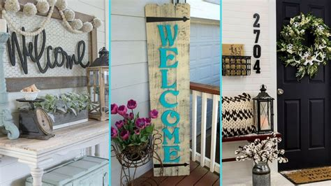 home trends and design mango diy shabby chic style front porch welcome signs home