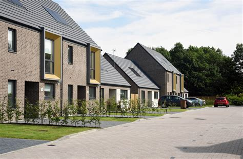 new council homes officially opened in irvine scottish