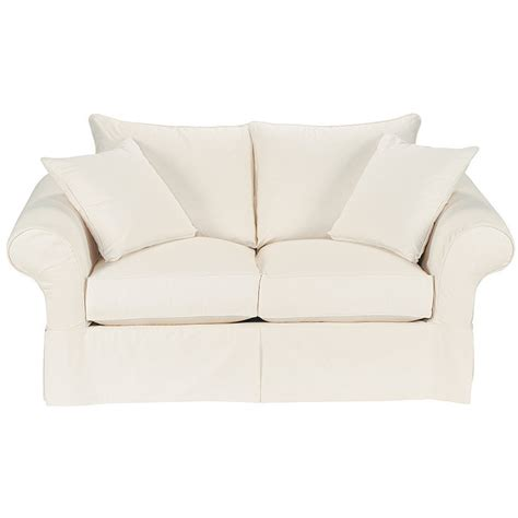 white fabric loveseat vintage vogue loveseat slipcover special order fabrics