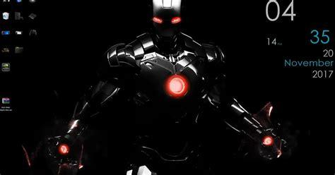 wallpaper engine iron man black skin animated