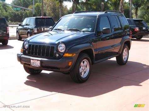midnight blue jeep 2007 midnight blue pearl jeep liberty sport 20449315