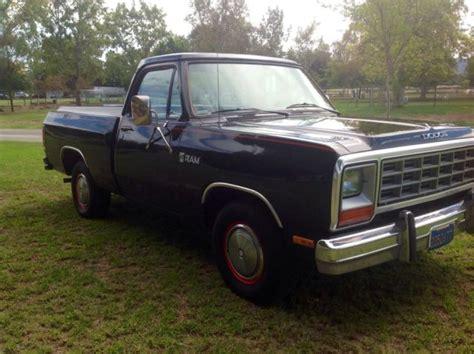 1984 dodge ram truck 1984 dodge ram up truck custom 150 v8 318 automatic