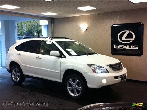 how does cars work 2008 lexus rx parental controls 2008 lexus rx 400h awd hybrid in crystal white 064666 nysportscars com cars for sale in