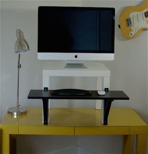 The Best Standing Desk Options Diy Ikea Quittingsitting Standing Desk Options