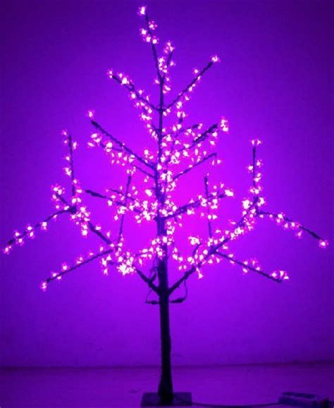 china decorative led tree flower lights tree led china