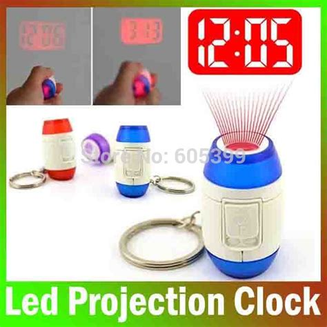 bright house alarm mini led laser projection time clock light projection