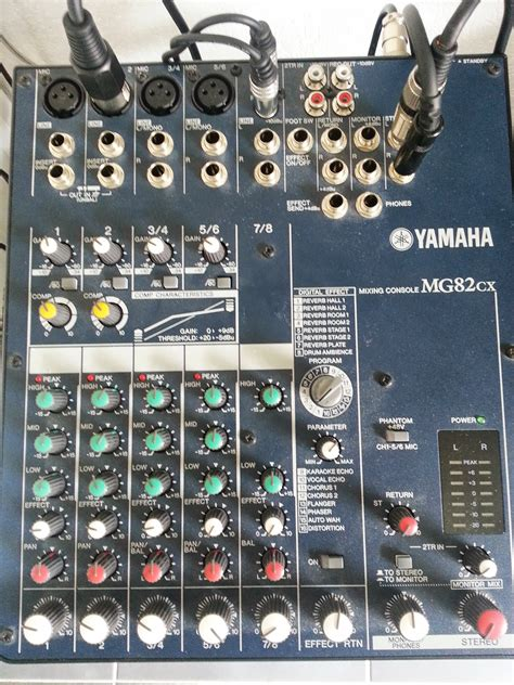 Mixer Yamaha Mg82cx yamaha mg82cx image 644219 audiofanzine