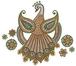 henna design machine henna peacock embroidery designs machine embroidery