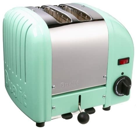 Colored Toasters Appliances dualit 2 slice toaster mint green modern toasters