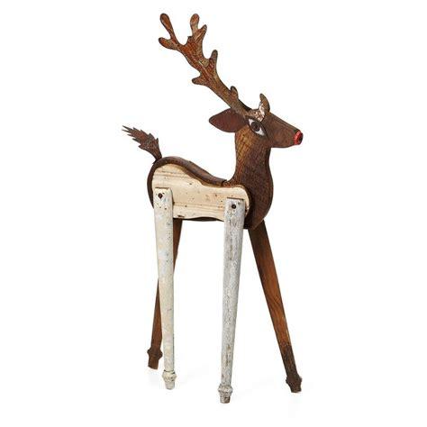 Handmade Reindeer - wooden reindeer plans woodworking projects plans