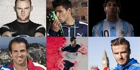 Sepatu Bola Pemain Eropa 6 bintang sepak bola dengan kontrak sepatu termahal cesc