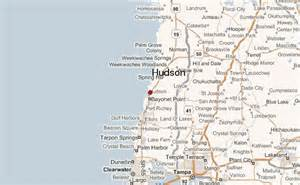 hudson florida map hudson florida location guide