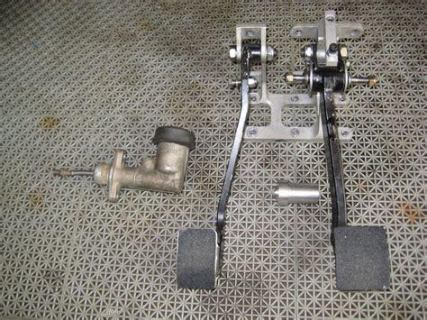 swing car assembly race car hot rod forward swing aluminum dual brake clutch