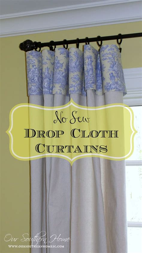 curtains from drop cloths best 25 drop cloth curtains ideas on pinterest drop