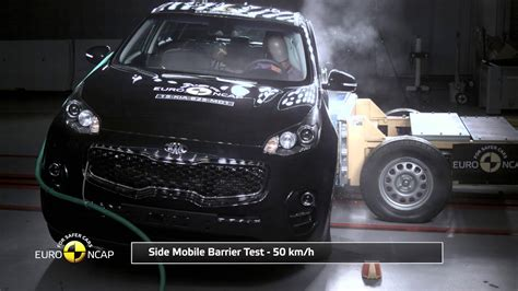 Kia Sportage Crash Test Ncap Crash Test Of Kia Sportage 2015