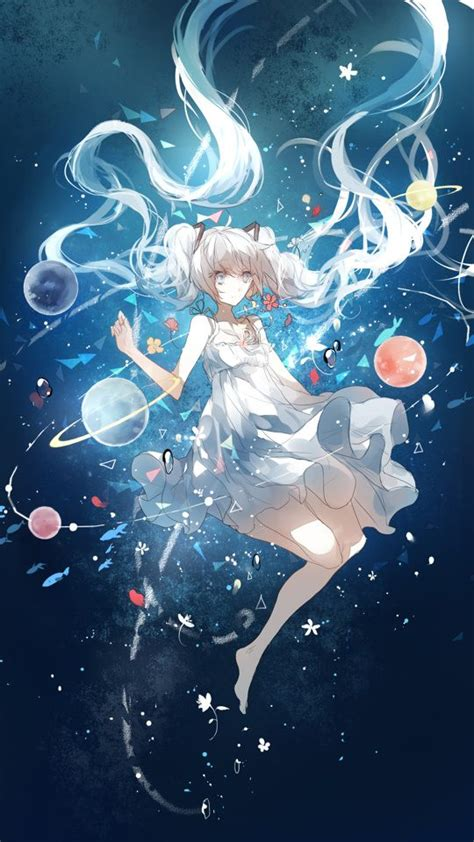 anime girl wallpaper space download space anime girl wallpapers to your cell phone