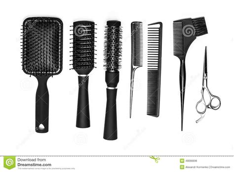 Hair Dresser Tools by Hairdresser Tools Stock Photo Image 49066696