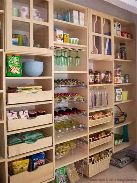 organization and design ideas for storage in the kitchen pantry diy
