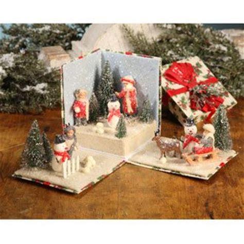 free printable christmas diorama christmas diorama boxed in pinterest