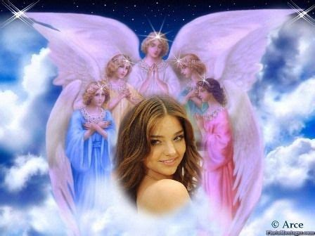 imagenes religiosas de angeles fotomontajes con fondos religiosos imagui
