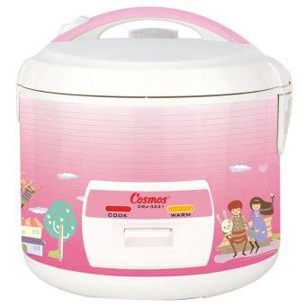 Cosmos Crj 605 N Magic daftar lengkap harga rice cooker semua merek september