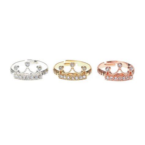 Best Rings by 3 Pack Best Friend Crown Rings S