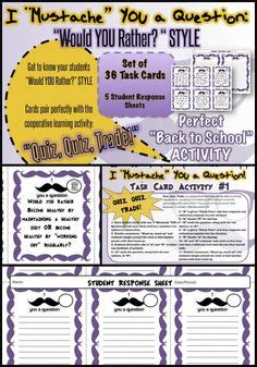 classroom response cards template task cards facts and worksheets on