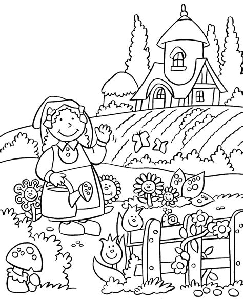 garden creatures coloring pages this is country coloring pages templates photo images