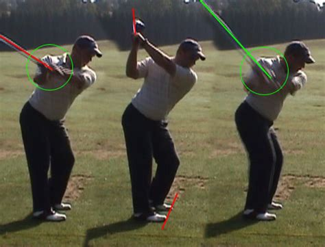 laid off golf swing jeff smith swing analysis swing check the sand trap