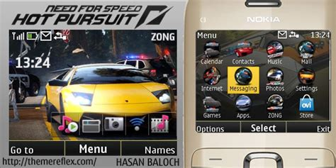 lamborghini themes for nokia c3 need for speed hot pursuit theme for nokia c3 x2 01