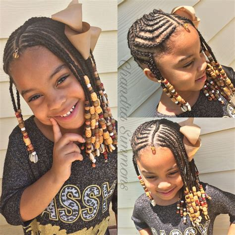 Kid Braided Hairstyles by 25 Beautiful Kid Braids Ideas On Lil
