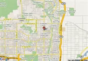 us map scottsdale arizona map of chaparral suites scottsdale scottsdale
