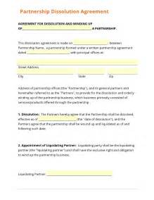 Corporate Partnership Agreement Template by Business Form Template Gallery
