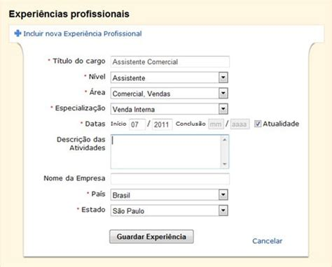 Modelo Curriculum Infojobs Como Fazer Um Curriculo No Meu Email Como Fazer Um Curriculo