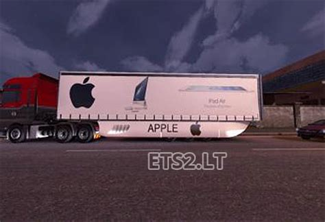 Apple Trailer | apple trailer v1 ets 2 mods