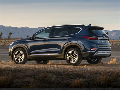 2019 Hyundai Size Suv by New 2019 Hyundai Santa Fe Price Photos Reviews Safety