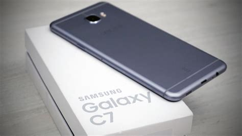 samsung c 7 samsung galaxy c7 unboxing on