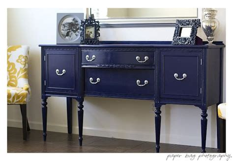 diy navy blue buffet gorgeous also lots of tips for