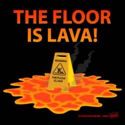 Floor Is Lava Game the floor is lava