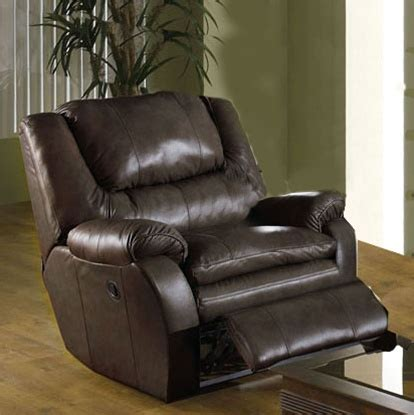 leather cuddler recliner allegro cuddler recliner in coffee color leather by